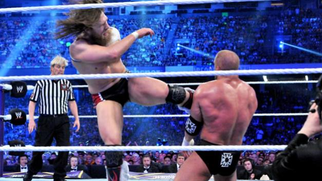 wrestlemania 30 - daniel bryan vs triple h