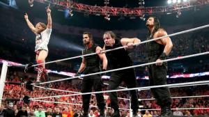 wwe raw - daniel bryan and the shield