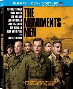 Monuments Men blu ray