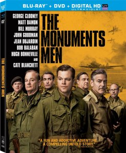Monuments Men blu ray