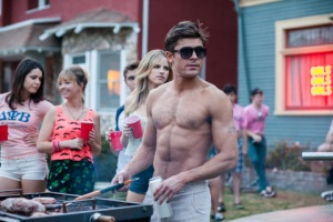 "Glen Wilson/Universal Studios ZAC EFRON stars as frat president Teddy Sanders in ""Neighbors."""