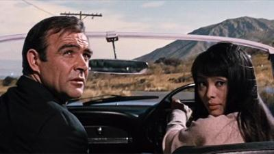 Sean Connery and Akiko Wakabayashi in You Only Live Twice