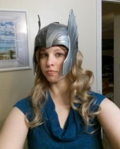 beryla gann as thor