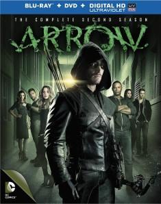 Arrow season 2 blu ray