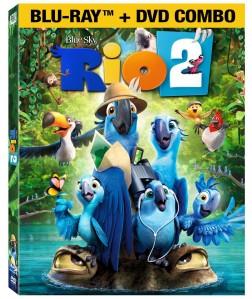 Rio 2 blu ray