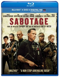 sabotage blu ray cover