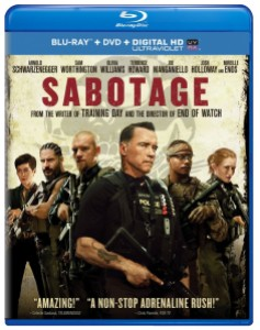 sabotage blu ray cover