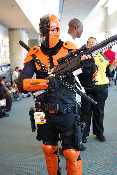 Alright  so what do you think  Cancel replyArrow Deathstroke Cosplay