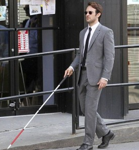 Charlie Cox as Matt Murdock in Daredevil