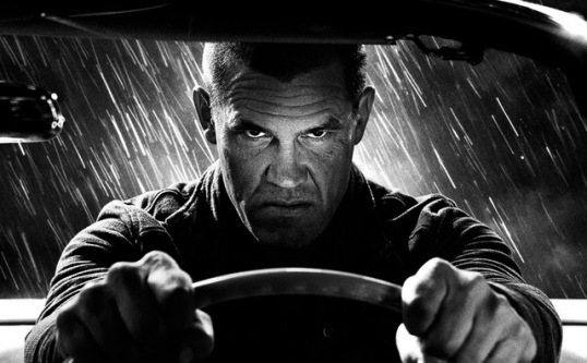 "The Weinstein Company Josh Brolin as Dwight in ""Sin City: A Dame to Kill For."""