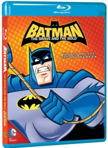 Batman Brave and Bold Season 2 blu-ray