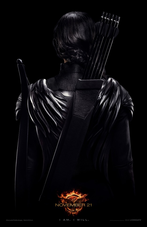 Katniss Hunger Games Mockingjay poster