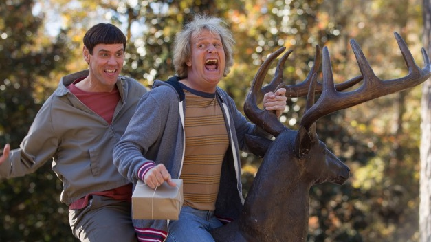 DUMB AND DUMBER TO pic - Jim Carrey and Jeff Daniels