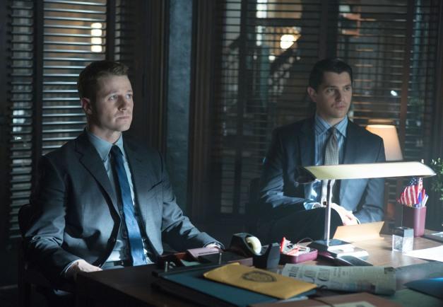 Gotham show pics- Lovecraft - Gordon and Harvey Dent