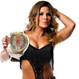 Mickie James hot TNA champ