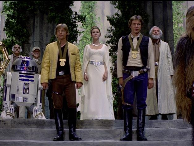 Princess Leia rebel celebration
