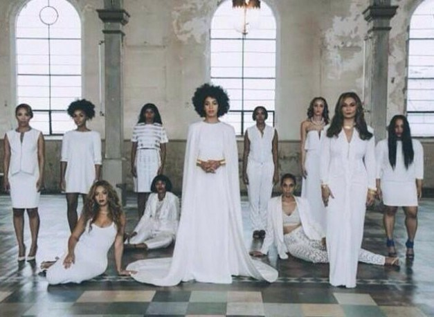 Solange wedding pic
