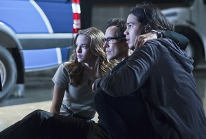 The Flash - Blackout - Caitlin, Wells and Cisco