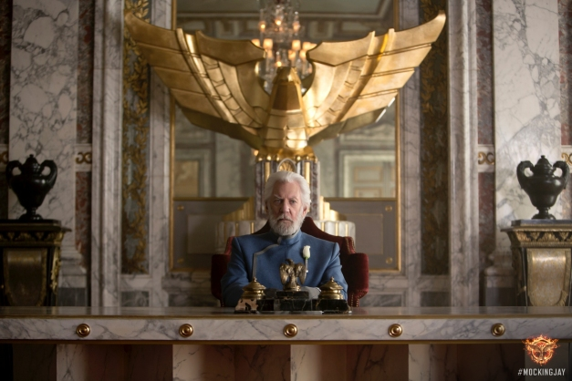 The Hunger Games - Mockingjay Part 1 - Donald Sutherland as President Snow
