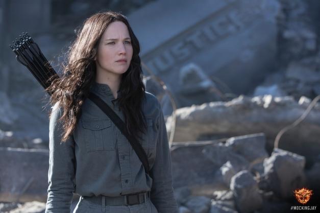 The Hunger Games - Mockingjay Part 1 - Jennifer Lawrence as Katniss Everdeen