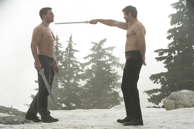 Arrow - The Climb - Ras al Ghul vs Arrow