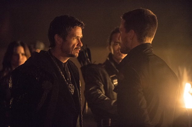 Arrow - The Climb - Ra's confronts Oliver