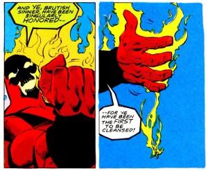 Brimstone kills Suicide Squad Blocbkbuster