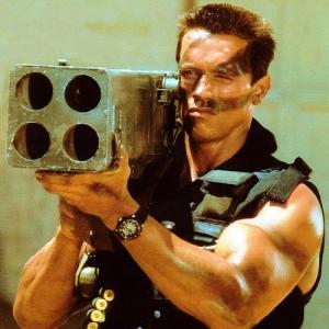 Commando -Arnold Schwarzenegger