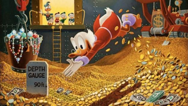 Disney money Scrooge McDuck