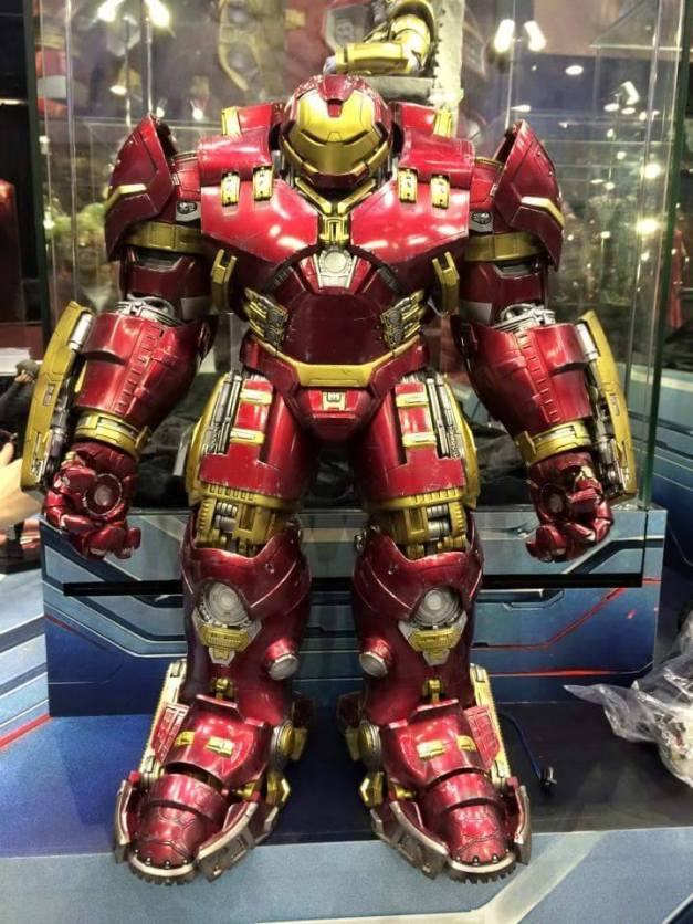 Hot Toys Age of Ultron Avengers figures - Hulkbuster Iron Man front