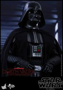 Hot Toys Star Wars Darth Vader figure - close up