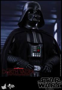 Hot Toys Star Wars Darth Vader figure - close up