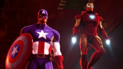 Iron Man and Captain America - Heroes United - Cap and Iron Man