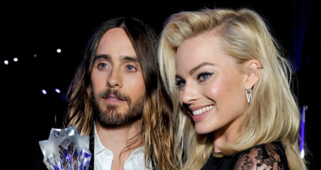 Jared Leto and Margot Robbie