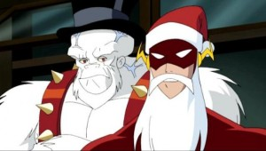 Justice League Flash and Ultra Humanite Christmas