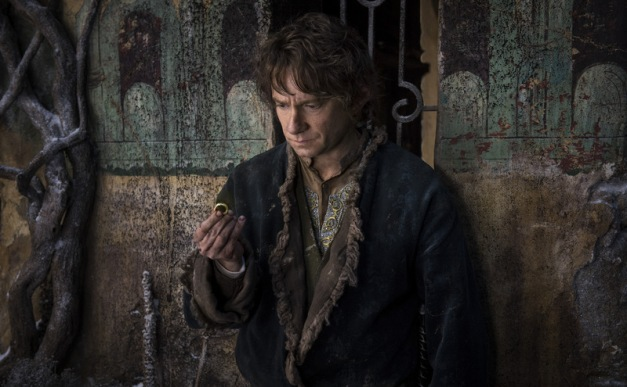 "Mark Pokorny/Warner Bros. Pictures Martin Freeman as Bilbo Baggins in ""The Hobbit: The Battle of Five Armies."""