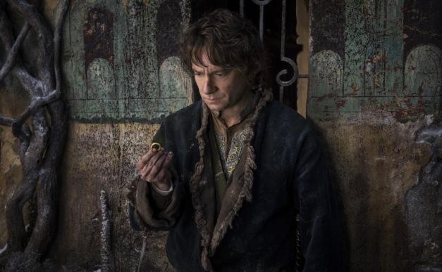 "Mark Pokorny/Warner Bros. Pictures Martin Freeman as Bilbo Baggins in ""The Hobbit: The Battle of Five Armies."""