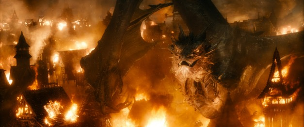 Warner Bros. Pictures Smaug, played by BENEDICT CUMBERBATCH,