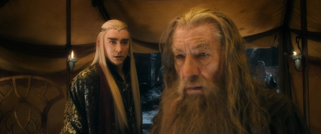 The Hobbit: The Battle of Five Armies pics - Thranduil and Gandalf the Grey