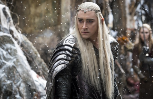 """Warner Bros. Pictures LEE PACE as Thranduil in the fantasy adventure """"THE HOBBIT: THE BATTLE OF THE FIVE ARMIES."""""""