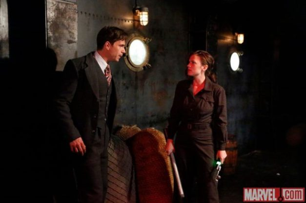 Agent Carter - Time and Tide - Jarvis and Agent Carter