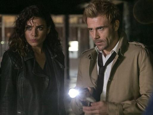 Constantine - Quid Pro Quo - Zed and Constantine investigating