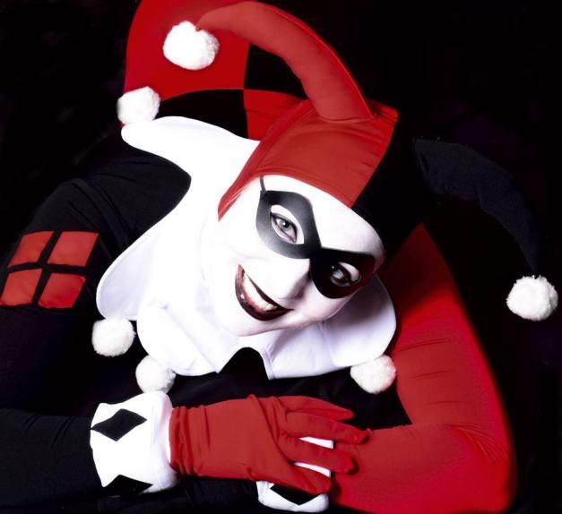 Cosplay - Harley Quinn SLC - as classic Harley Quinn