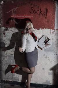 Cosplay - Harley Quinn SLC - as Dr. Quinzel