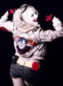 Cosplay - Harley Quinn SLC - as Bombshell Harley