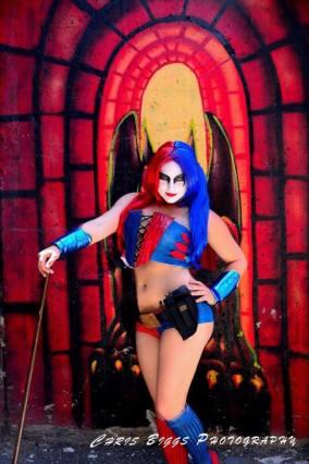 Cosplay - Harley Quinn SLC - as new52 Harley Quinn