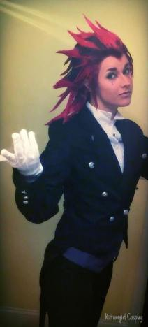 Cosplay - Kittumgirl Cosplay - as Axel from Kingdom Hearts