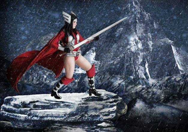 Cosplay - Stray Kat - as Lady Sif