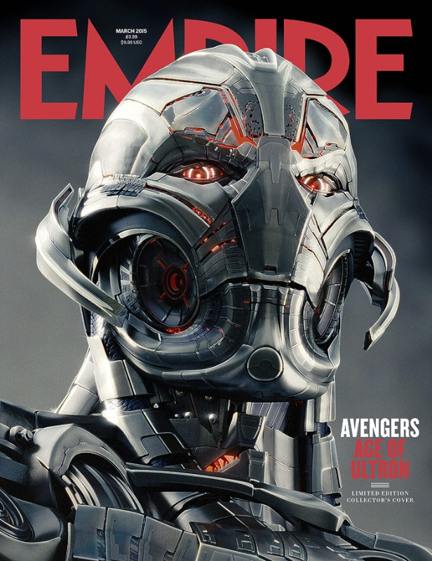 EMPIRE Avengers Age of Ultron covers -  Ultron