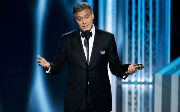 George Clooney 2015 Golden Globes